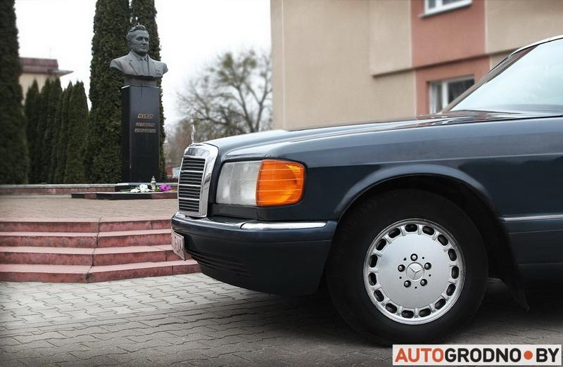 Найден Mercedes, на котором ездил знаменитый Александр Дубко