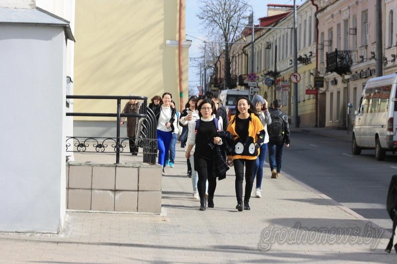 С начала нового 2018 года на Гродненщину приехало более двухсот безвизовых туристов