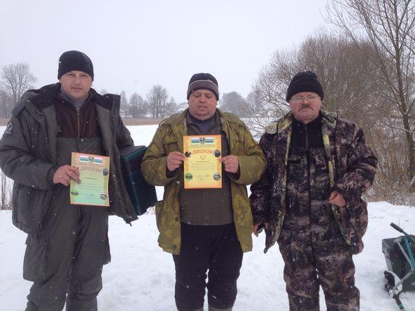 Вороновские рыбаки наудили на первое место