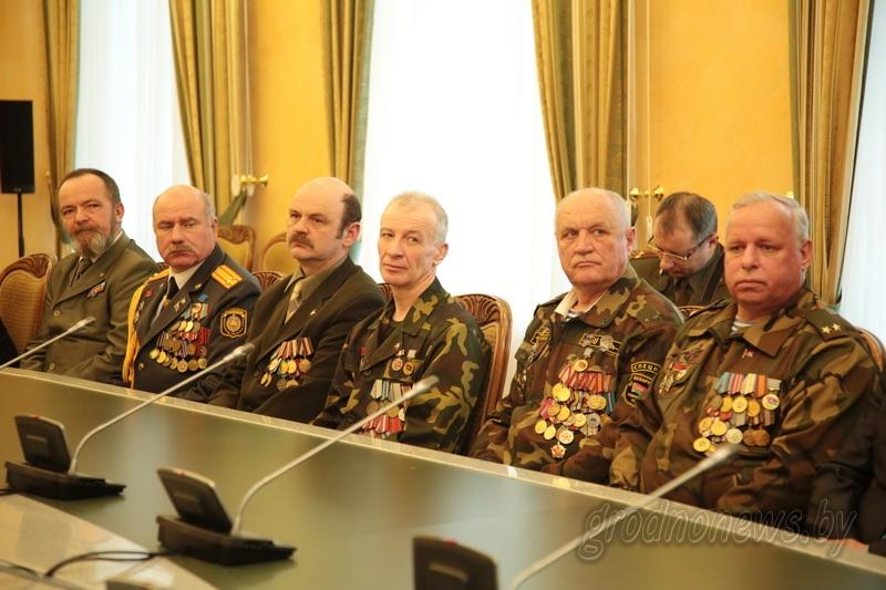 В областном исполнительном комитете чествовали воинов-интернационалистов