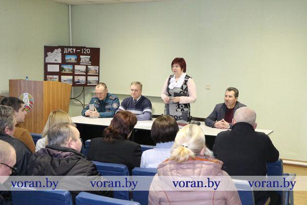 Руководители Вороновщины продолжают отчетные встречи