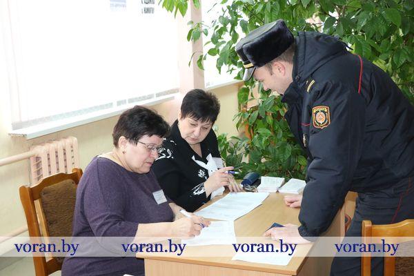 В Вороновском районе явка избирателей превысила 78,4 процента
