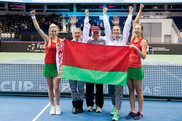 10 и 11 февраля 2018 г. в Минске состоится матч первого круга Мировой группы Кубка Федерации по теннису