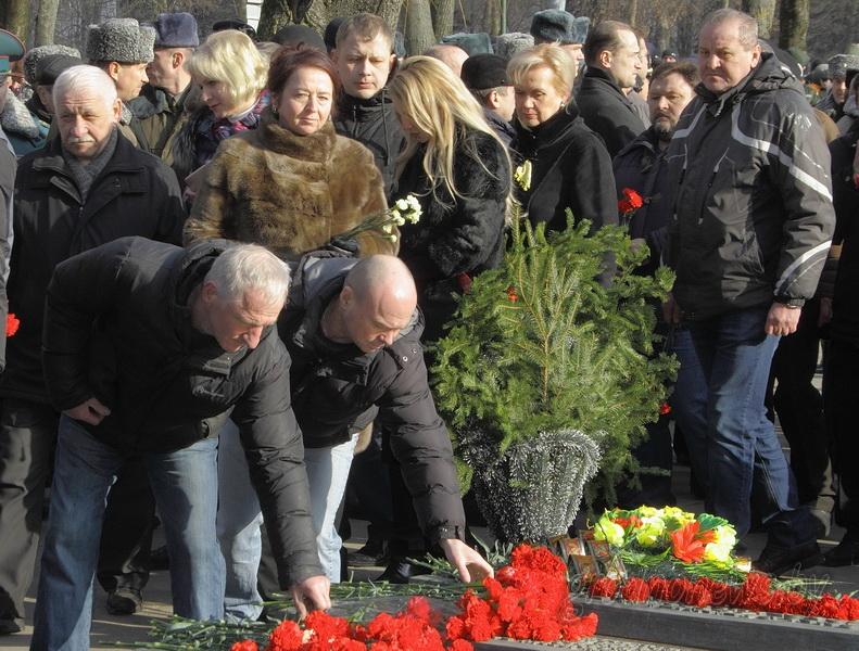 В Гродно почтили память воинов-афганцев
