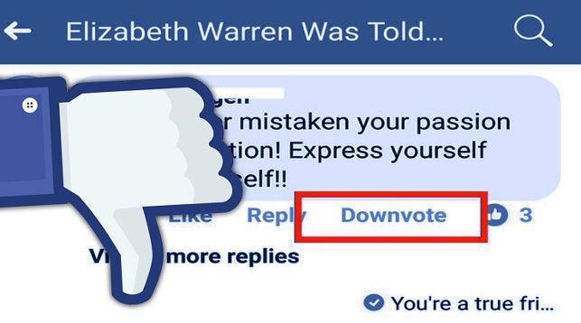 Facebook тестирует кнопку «Дизлайк» под комментариями