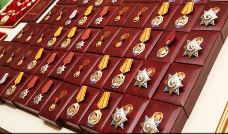Сразу три представителя АПК Вороновщины награждены государственными наградами