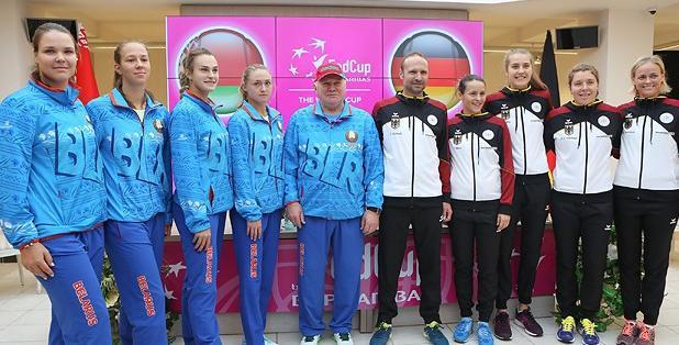 Арина Соболенко и Татьяна Мария откроют матч Кубка Федерации Беларусь — Германия