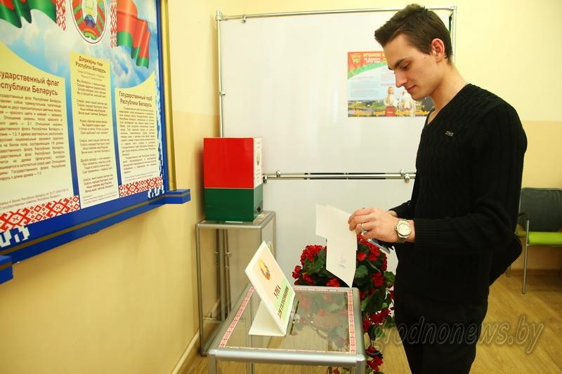Продолжается досрочное голосование на выборах депутатов местных Советов депутатов 28-го созыва