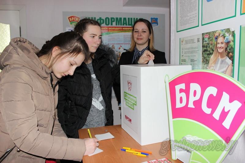 Задай свой вопрос о выборах. В Гродно начала работу общественная приемная молодого избирателя