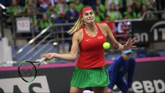 Белорусские теннисистки вышли вперед в матче Кубка Федерации с командой Германии