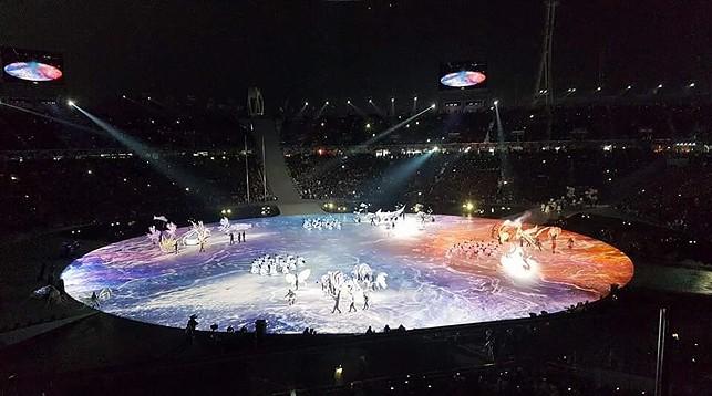 В Пхенчхане проходит церемония открытия XXIII зимних Олимпийских игр