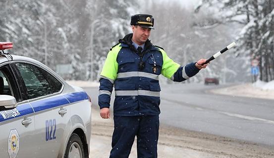 ГАИ проведет массированные отработки дорог местного и республиканского значения 10-11 февраля