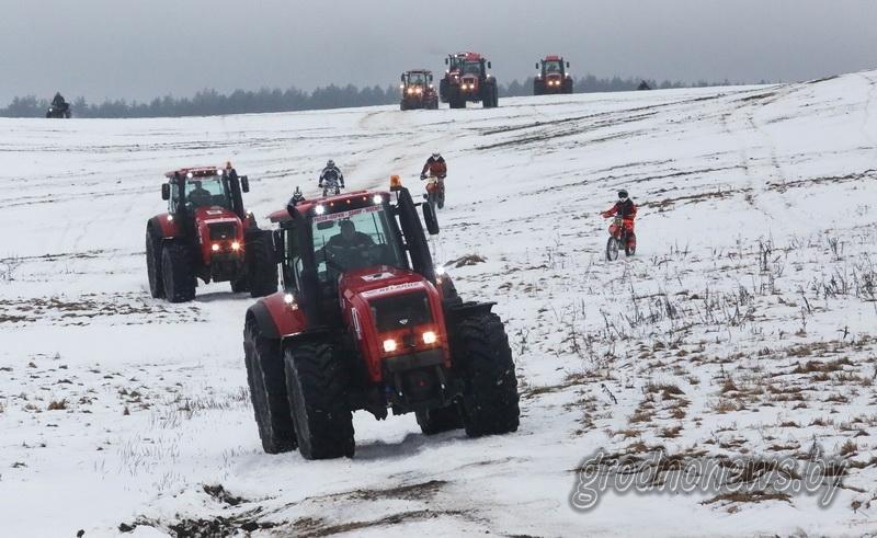 Парад с авиацией, масленица на «Привале» и тракторный биатлон… Чем запомнятся последние зимние выходные?