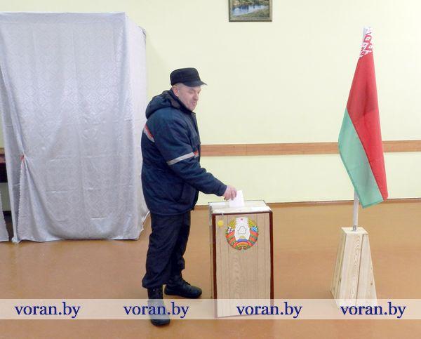 Время выбирать: как проходит досрочное голосование  в Вороновском районе