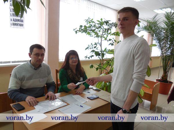 На Вороновщине началось досрочное голосование