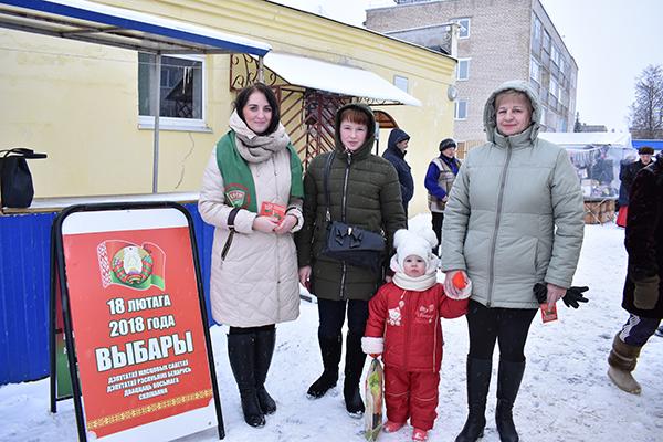 В Вороново прошел информационный пикет