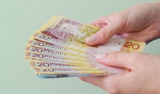 Средняя зарплата в Беларуси в январе 2018 года составила 859 рублей