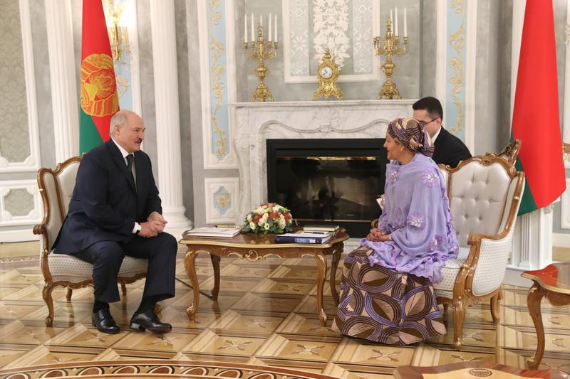 Александр Лукашенко: «Беларусь твердо привержена Целям устойчивого развития»