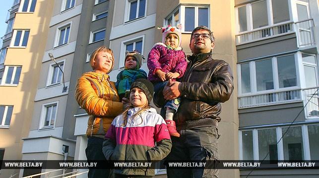 Жилье для более чем 7 тыс. многодетных семей планируется построить в Беларуси в 2018 году