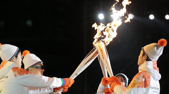 Церемония открытия Паралимпийских игр началась в Пхенчхане