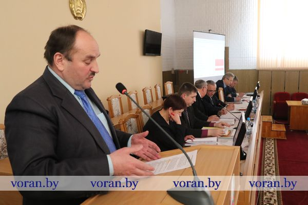 Бизнес-план на 2018 год и его приоритеты рассмотрели в Вороновском райисполкоме