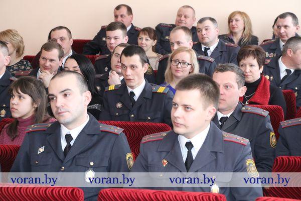 Благодарим за наш покой. В Вороново состоялось торжественное мероприятие ко Дню милиции (Фото. +Видео)