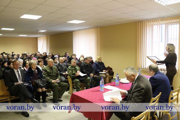 Сегодня Единый день информирования проходит на Вороновщине (Дополнено)