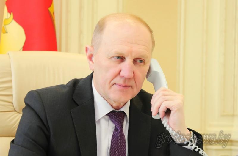 Владимир Кравцов: «Гродненская область в 2018 году направит на решение вопросов качества воды 1 млн рублей, а за 3-4 года планирует полностью решить эту проблему в сельской местности»