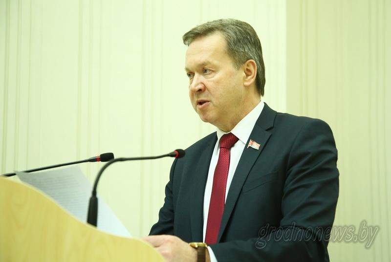 Председателем обновленного областного Совета депутатов избран Игорь Жук