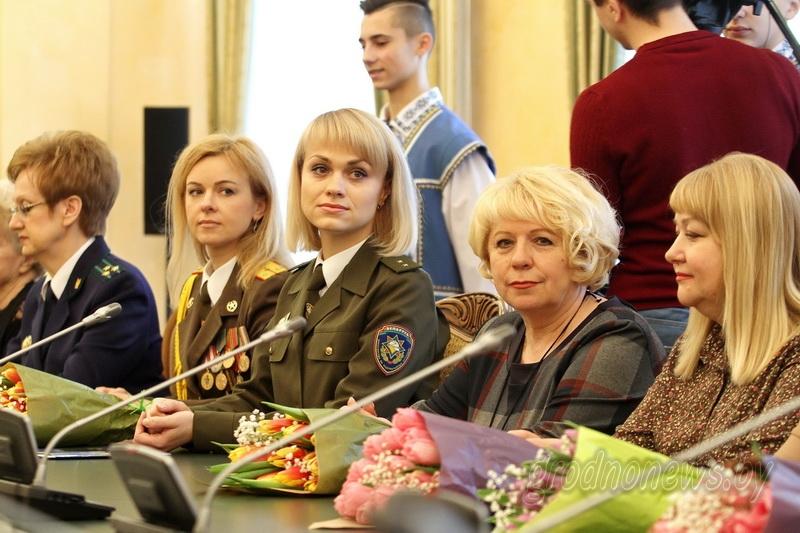 Мудрые, чуткие, прекрасные. Лучших женщин области чествовали в Гродненском облисполкоме