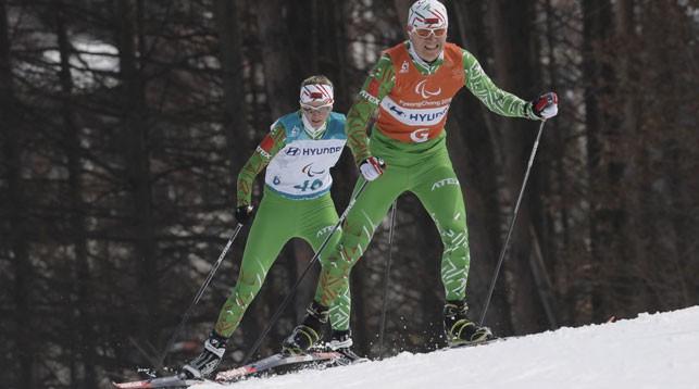 Белоруска Светлана Сахоненко завоевала вторую золотую медаль на Паралимпиаде в Пхенчхане
