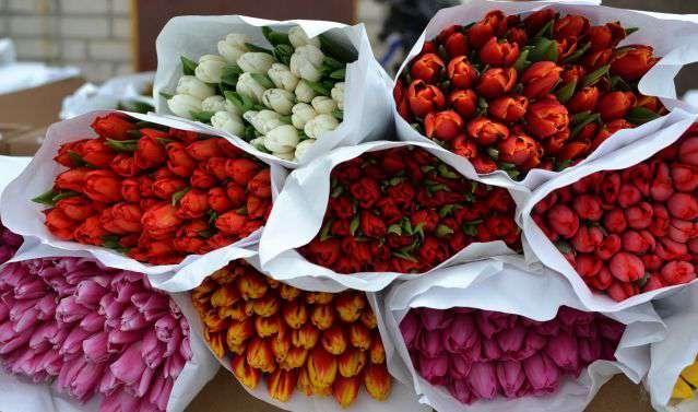 Цветы нарасхват. Планируете накануне 8 Марта торговать цветами – уплатите единый налог