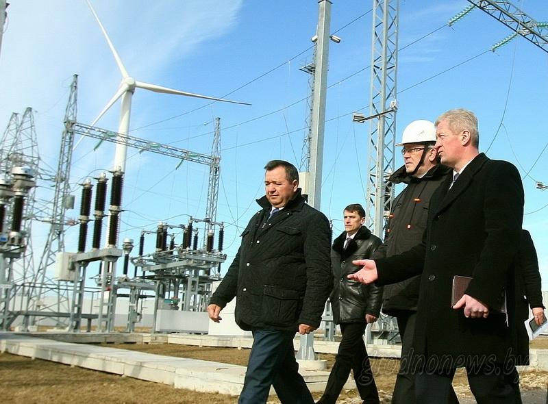 Дорожная карта зеленой энергетики. С ней на Новогрудчине ознакомился министр природных ресурсов и охраны окружающей среды Андрей Худык