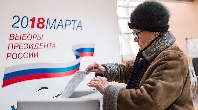 Наблюдатели из Беларуси отмечают техническое оснащение участков и явку избирателей на выборах президента России