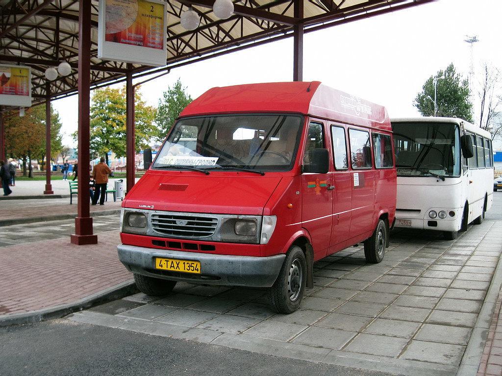 Междугородние маршрутные такси в Беларуси возобновляют свою работу