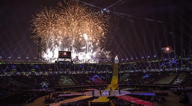 Церемония закрытия зимних Паралимпийских игр состоялась в Пхенчхане