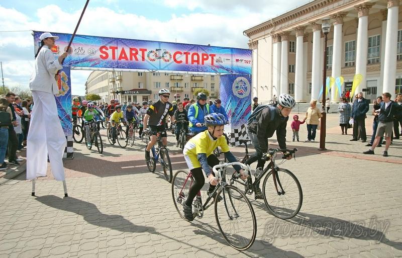 Из Гродно в Брест стартовал велопробег в поддержку Целей устойчивого развития