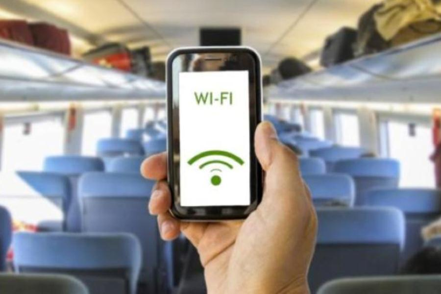 На трех маршрутах железной дороги появился бесплатный Интернет, среди них – Лида
