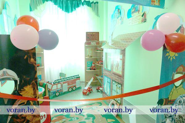 Сегодня в Вороново открылась детская имиджевая комната МЧС (Фото. Дополняется)