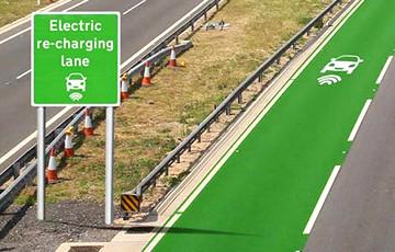 В Швеции открылась первая дорога, заряжающая электромобили