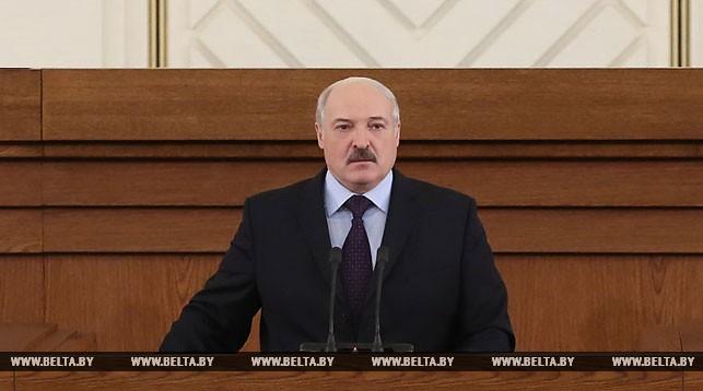 Лукашенко: безопасность — в единстве народа