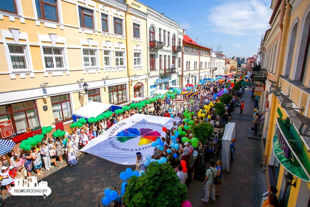 Торжественное шествие участников XII Республиканского Фестиваля национальных культур можно будет увидеть онлайн