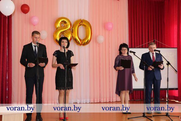 80-летний юбилей отметила Жирмунская средняя школа (Фото, Видео, Дополнено)