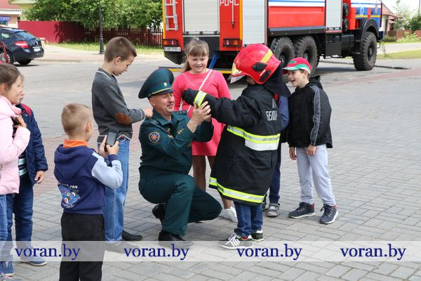 И грянул в Вороново оркестр пожарных (Фото, Видео)