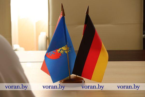 Вороново посетили гости из Германии