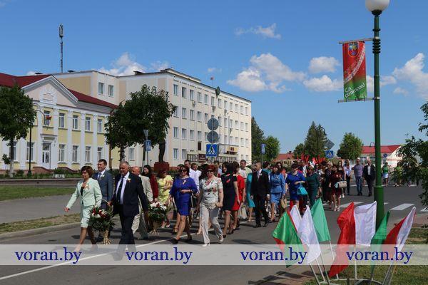 Вороновщина празднует День Победы (Фото, Видео)