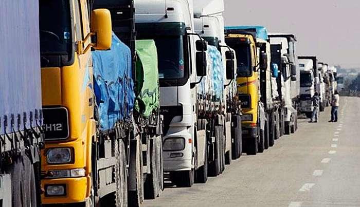 Въезда в Литву ожидают более 1,1 тысячи фур