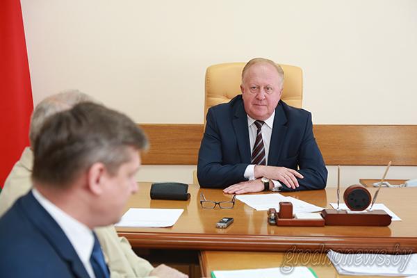 Заместитель председателя облисполкома Виктор Лискович провел прием граждан