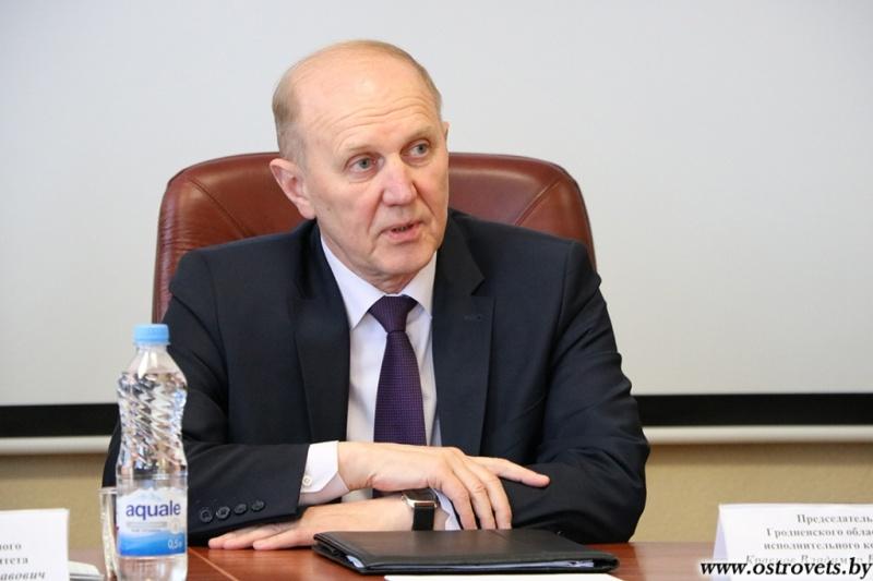 Владимир Кравцов встретился с трудовым коллективом Белорусской АЭС