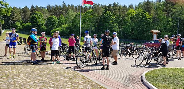 Международный велопробег в поддержку проекта «Август Вело» проходит в окрестностях Августовского канала